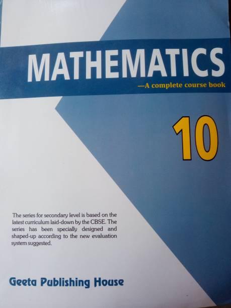 Mathematics A Complete Course Book Class 10
