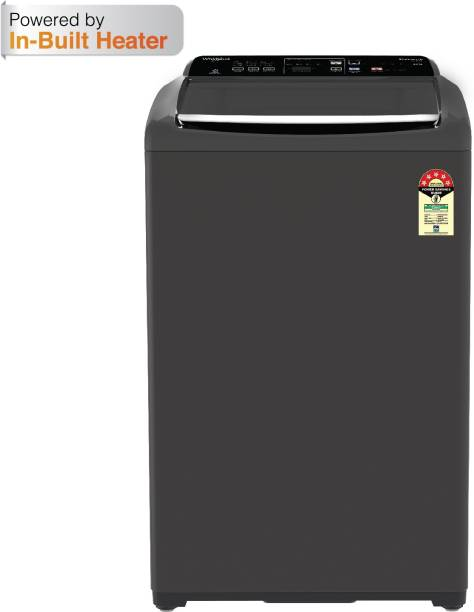 Whirlpool 6.5 kg 5 Star, Inbuilt Heater Fully Automatic Top Load with In-built Heater Grey