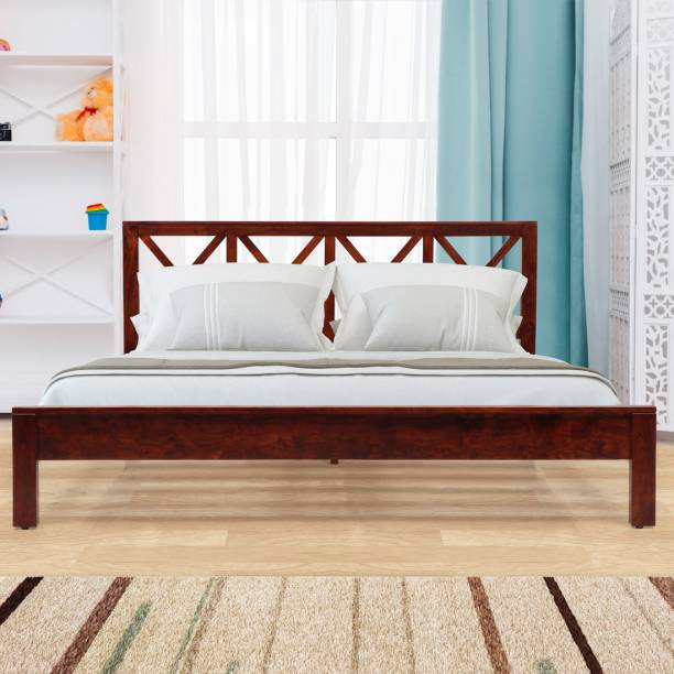 EVOK Solid Wood King Bed