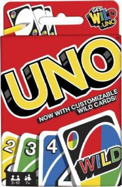 Kidz N Toyz UNO FAMILY CARD GAME COMPLETE PACK OF 108 CARDS