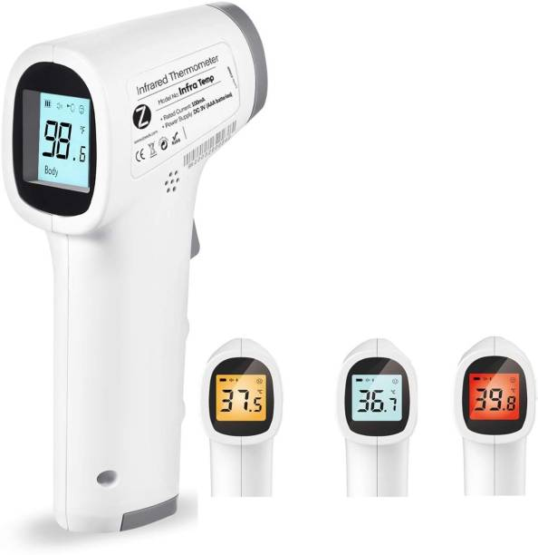 Zoook Infra Temp InfraTemp Forehead Medical Digital Non Contact Infrared (IR) Thermometer