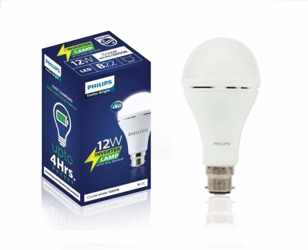 PHILIPS 12 W Standard B22 Inverter Bulb