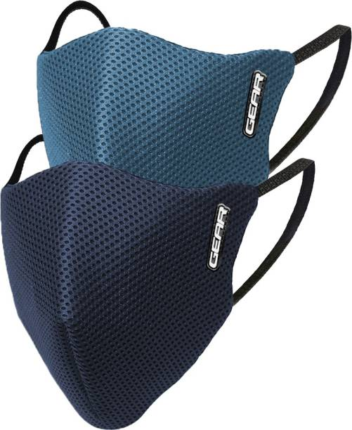 Gear OXYMAX Adult 6 Layer Reusable Outdoor ACCOXMOD02MS0555 Cloth Mask With Melt Blown Fabric Layer