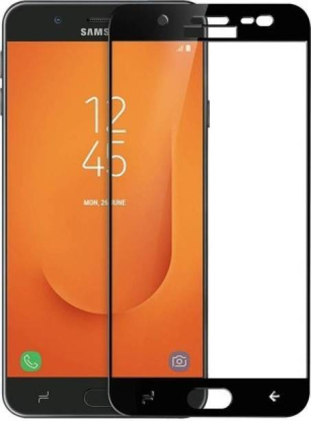 Gizmo Zone Front and Back Screen Guard for Samsung Galaxy J7 Prime 2 (Transparent) (Pack of 2 Front (9H Hardness Tempered) & Back (TPU))
