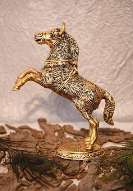 Chhariya Crafts Horse Statue Decorative Showpiece  -  21.5 cm
