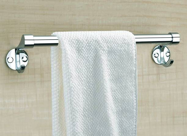 Spiry 24 INCH Stainless Steel Bathroom Towel Rod Holder/Towel Stand/Towel Hanger 24 inch 1 Bar Towel Rod