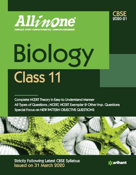 Cbse All in One Biology Class 11 for 2021 Exam