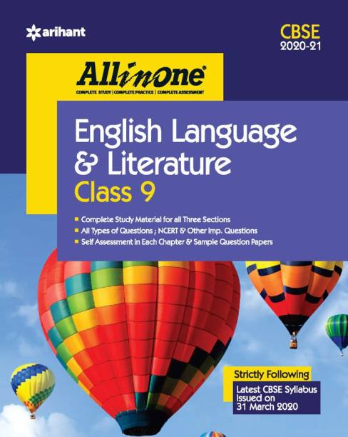 Cbse All in One English Language & Literature Class 9 for 2021 Exam