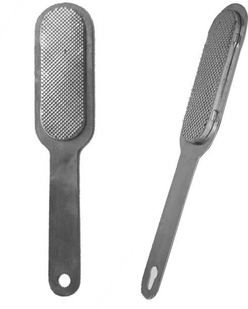 BUENO Pedicure File Foot Scrubber for Foot Dead Skin, Corn, Callus Remover, Pack Of 2