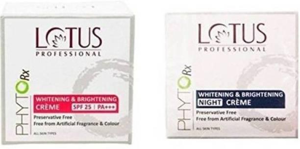 LOTUS Professional Phytorx Whitening & Brightening Day & Night Cream