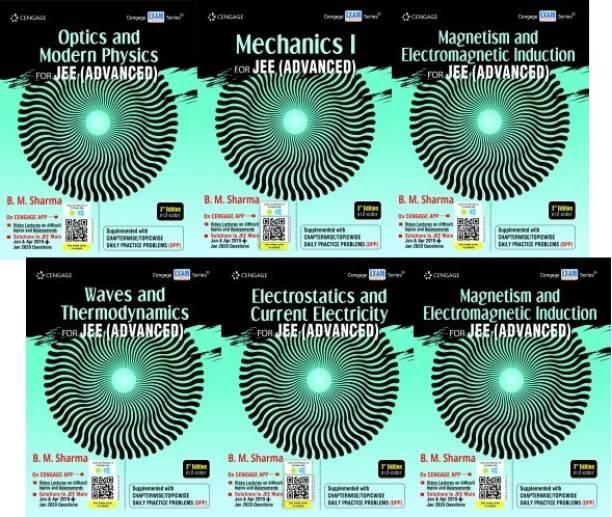 Mechanics 1, Mechanics 2, Waves & Thermo., Optics & Modern Physics, Electrostatics & Current Elec., Magnetism & Electro. Induction