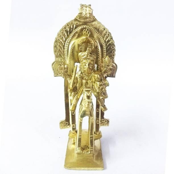 AMKL Brass Khandoba Murti Decorative Showpiece  -  12 cm