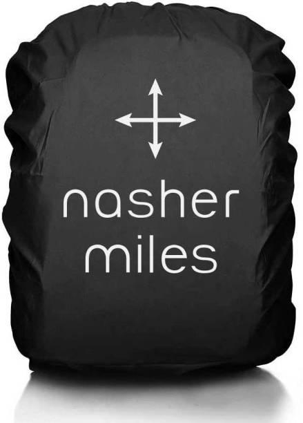 NASHER MILES Black New Logo Backpack Rain Cover Laptop Bag Cover