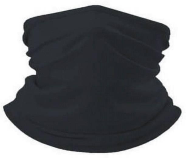 TEJVIJ AND SONS Black Bike Face Mask for Men & Women