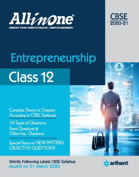 Cbse All in One Entrepreneurship Class 12 for 2021 Exam
