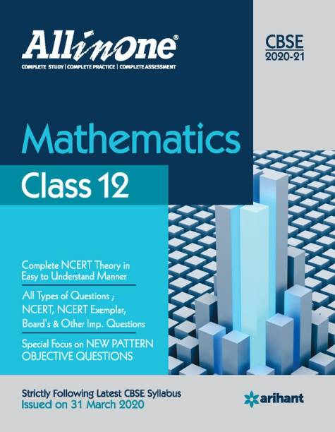Cbse All in One Mathematics Class 12 for 2021 Exam