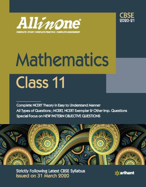 Cbse All in One Mathematics Class 11 for 2021 Exam