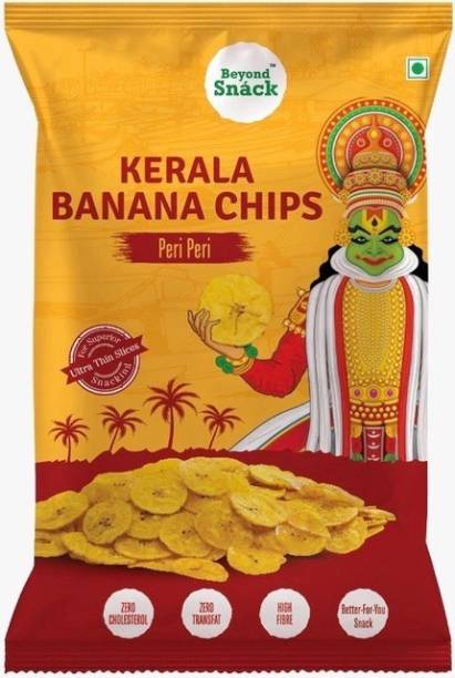 Beyond Snack Banana Chips Peri Peri Flavour Snacks Chips