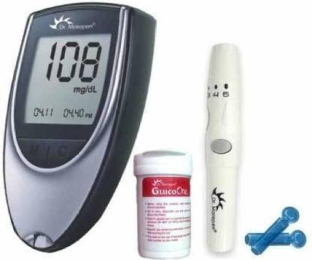 MAHVI TOYS Glucometer sugar Glucose check machine with 25 strip Glucometer Glucometer