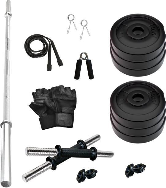 Adrenex by Flipkart 30 kg PVC 30 KG COMBO 9-WB Home Gym Kit Home Gym Combo