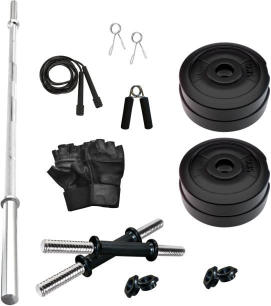 Adrenex by Flipkart 20 kg PVC 20 KG COMBO 9-WB Home Gym Kit Home Gym Combo