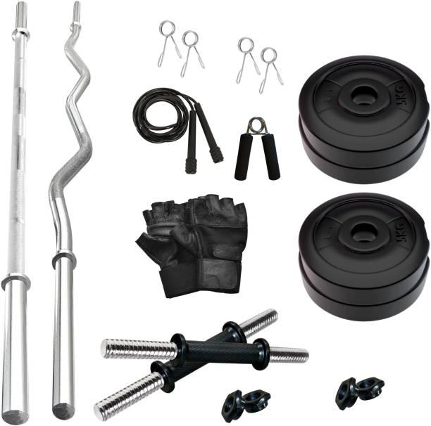Adrenex by Flipkart 20 kg PVC 20 KG COMBO 343-WB Home Gym Kit Home Gym Combo