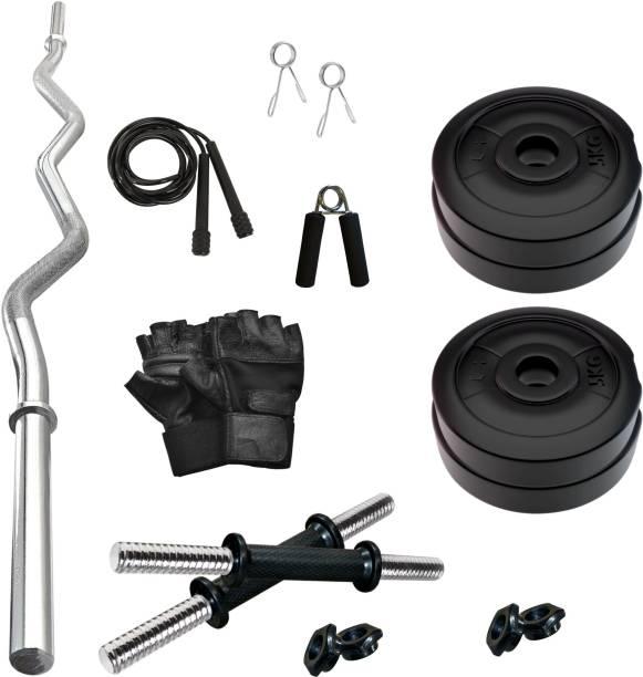 Adrenex by Flipkart 20 kg PVC 20 KG COMBO 3-WB Home Gym Kit Home Gym Combo
