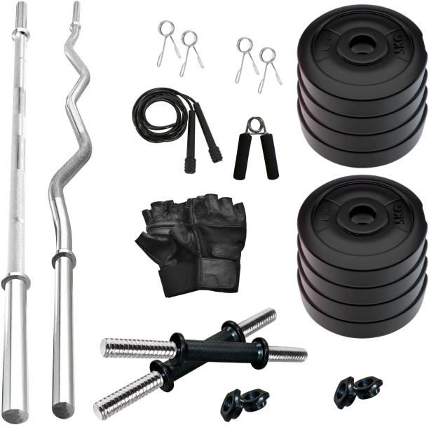 Adrenex by Flipkart 40 Kg PVC 40 KG COMBO 343-WB Home Gym Combo