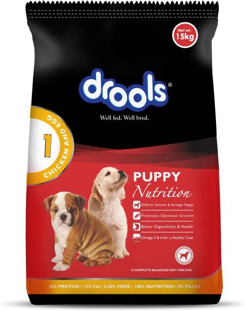drools Puppy Egg, Chicken 15 kg Dry New Born Dog Food