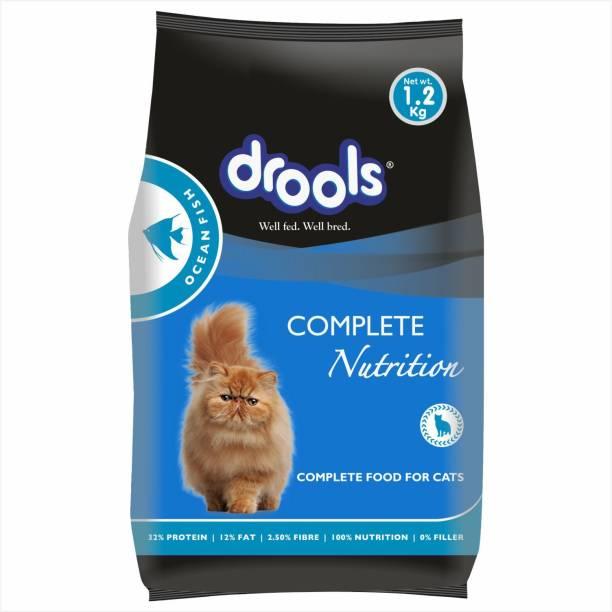drools Ocean Fish 1.2 kg Dry Adult Cat Food