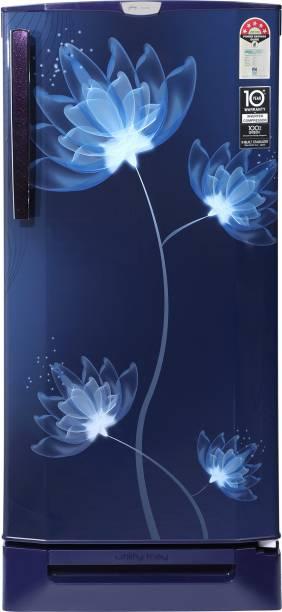 Godrej 190 L Direct Cool Single Door 5 Star Refrigerator  with Base Drawer and Intelligent Inverter Compressor