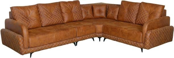 Amey 1609 Fabric 5 Seater  Sofa