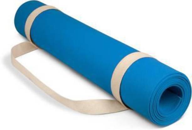 ROYAL SHOP Anti Skid Yoga Mat With Strap 6 mm Yoga Mat