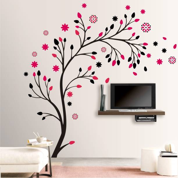 Wallsticks Floral - Colourful - Decorative - Wall Sticker - WS081
