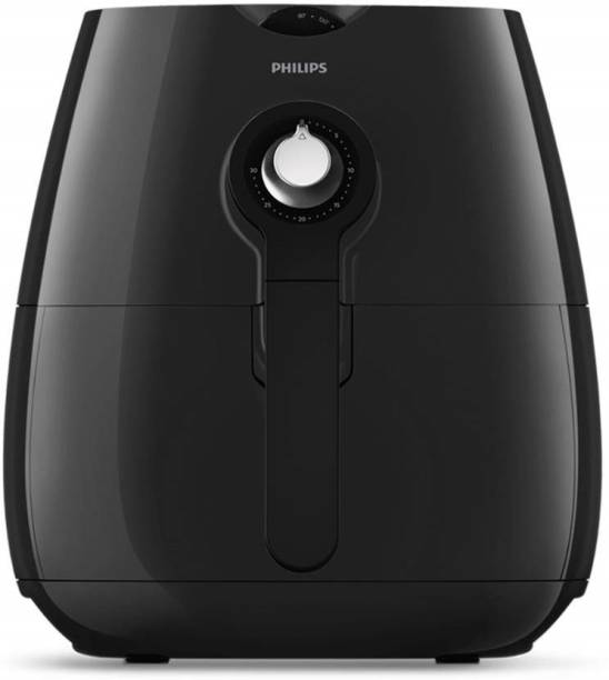 PHILIPS HD9216/43 Air Fryer, uses up to 90% Less Fat, and 1.8 m Retractable Cord Air Fryer