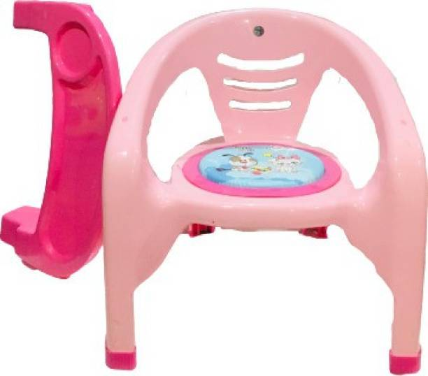 Nabhya Small Baby Chair with Front Food and Safety Tray ,Soft Cushion With Baby Whistle