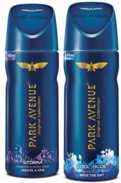 PARK AVENUE STORM & COOL BLUE Body Spray  -  For Men