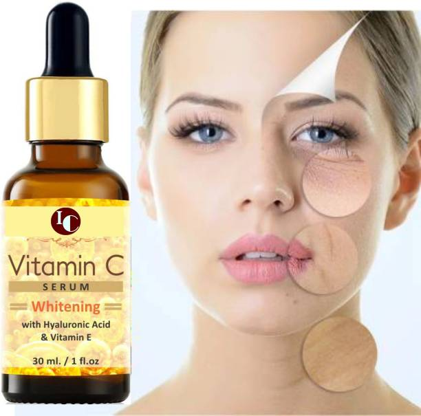 INDO CHALLENGE Vitamin C & Vitamin E Serum For Radiant & Brightening Skin