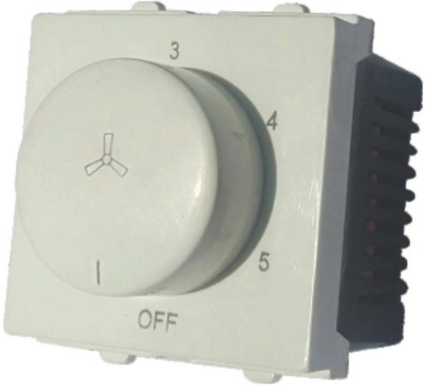 assaka SWITCH TYPE MODULAR 5 STEP FAN REGULATOR Step-Type Button Regulator