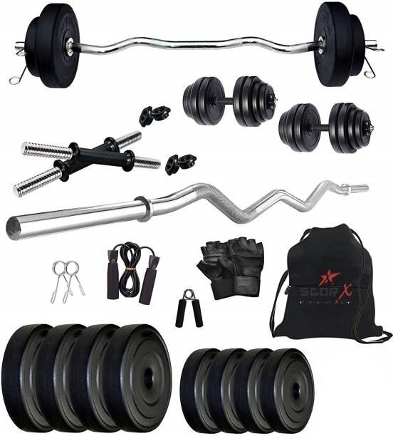 Star X 10 kg PVC10Kg3ftSX1 Home Gym Combo