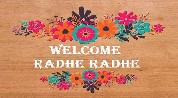 RJ14 (Online) Wooden WELCOME HOME WALL DECOR PIECE FOR YOUR KITCHEN/HOME. Name Plate