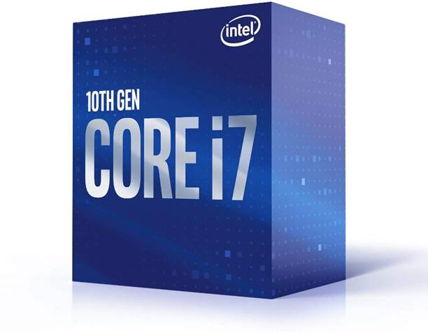 Intel Core i7-10700 2.9 GHz Upto 4.8 GHz LGA 1200 Socket 8 Cores 16 Threads 16 MB Smart Cache Desktop Processor