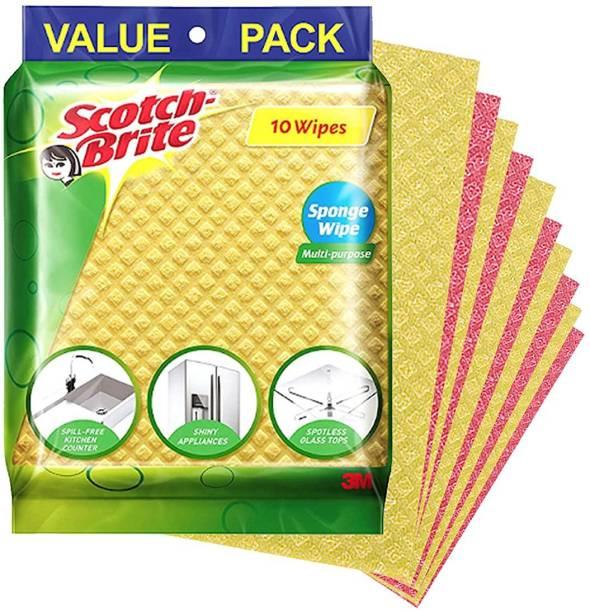 Scotch-Brite Sponge Wipe - Pack of 10 Wipes