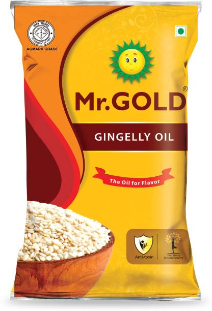 Mr. Gold Gingelly Oil 500 ML Pouch Sesame Oil Pouch