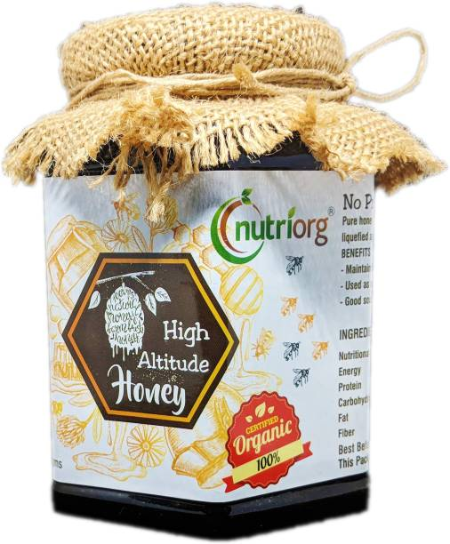 Nutriorg Certified Organic High Altitude Honey