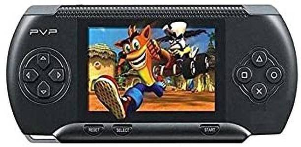 Raysx PVP BLACK COLOR 3000 GAMES VIDEO CONSOLE HANDHELD-LOPI9 1 GB with SUPER MARIO, ANGRY BIRDS, SUPER RACE, METAL SLUG