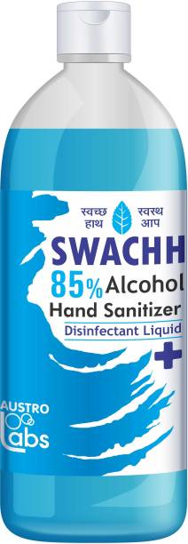 Austro Labs SWACHH HAND SANITIZER LIQUID - REFILL PACK 1 LTR Hand Sanitizer Bottle