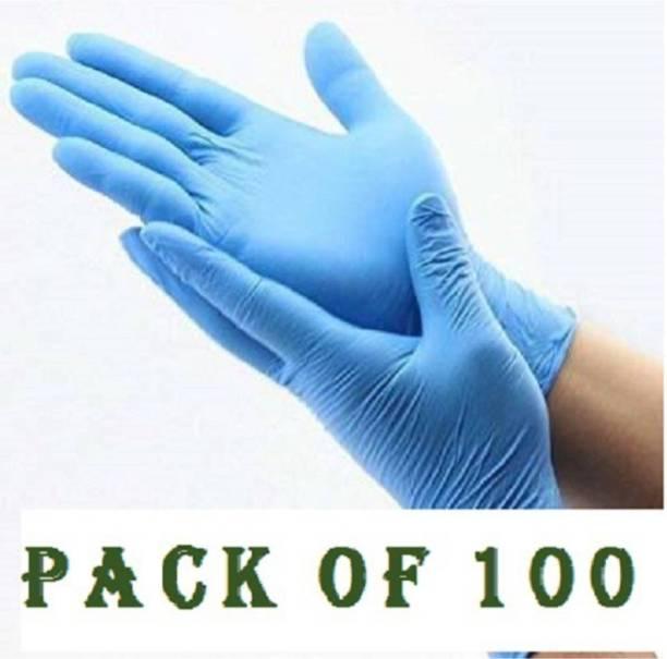 ESHOP 24X7 Latex Examination/Surgical Gloves, Safety Gloves, eshopgloves2031 Latex Surgical Gloves