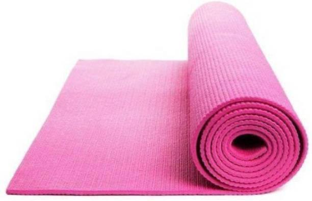 GROVERTEXOFAB ANTI-SKID YOGA MAT PINK 4.5 mm Yoga Mat