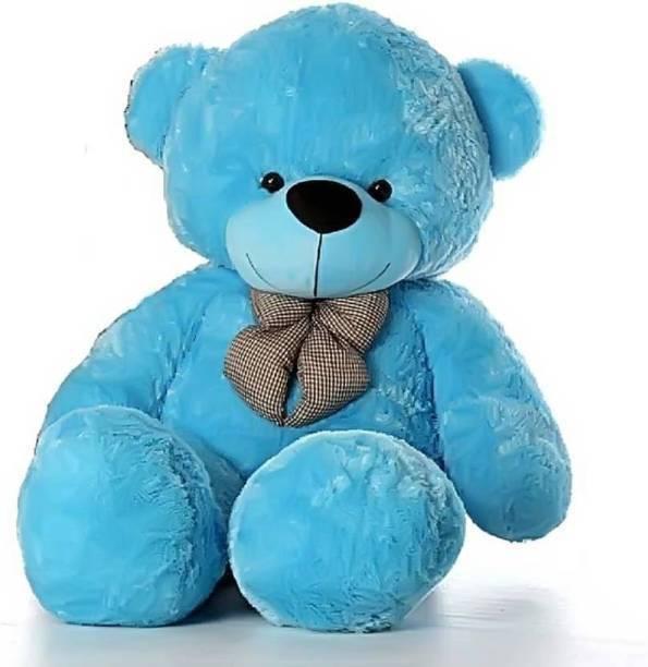 Mrbear 3 feet sky blue teddy bear / Big very soft sky blue teddy bear for pleasant Gift - 90.2 cm  - 90.2 cm